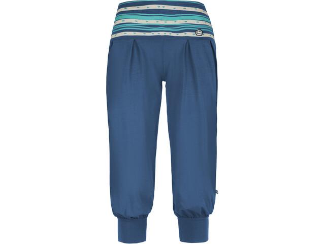 E9 Luna 3/4 Pants Damen cobalt blue
